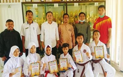 MTsN 1 Lombok Borong Medali pada World Virtual Kata Championship