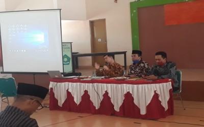 Sosialisasi Dana BOS dan Penulisan Blangko Ijazah di MTs Negeri 1 Lombok Tengah